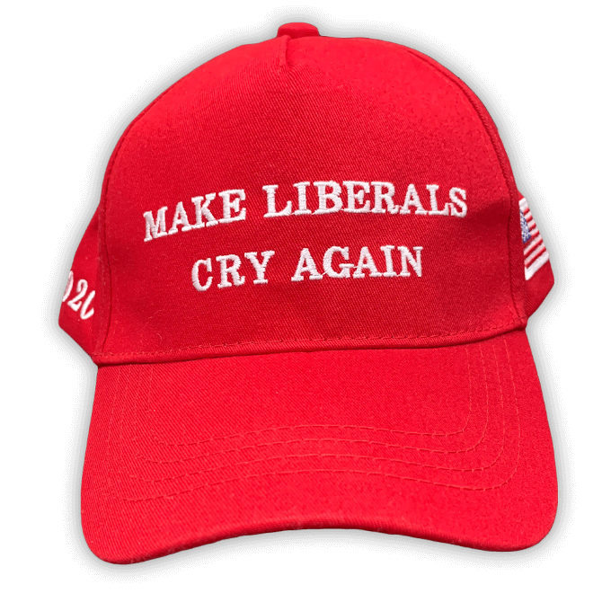 Free Make Liberals Cry Again Hat