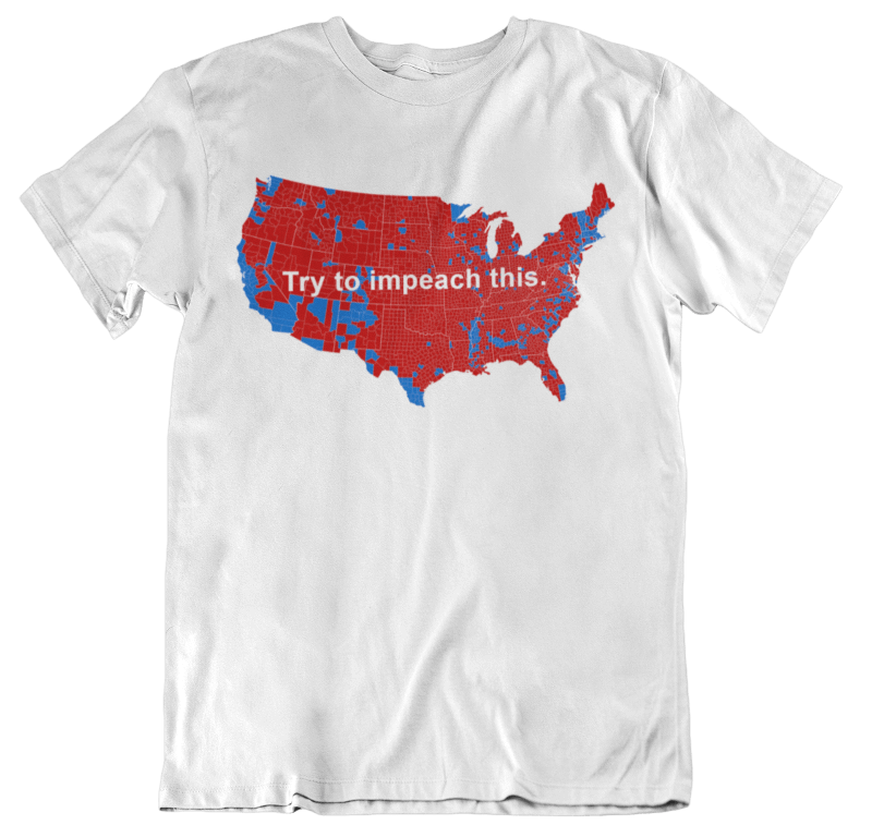 Free Trump Shirt—Try to Impeach This