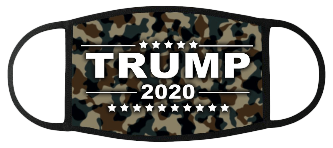 Trump 2020 Camo Face Mask