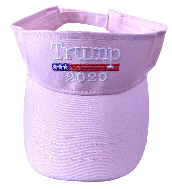 Trump 2020 Pink Visor