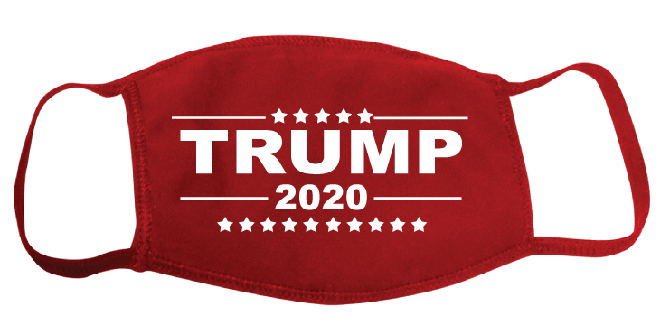 Trump 2020 Red Face Mask