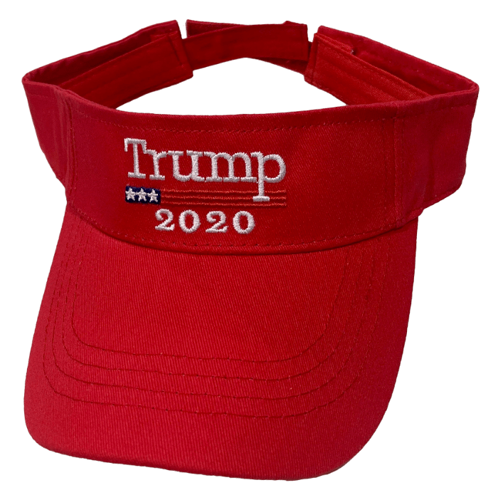 Free Trump Red Visor