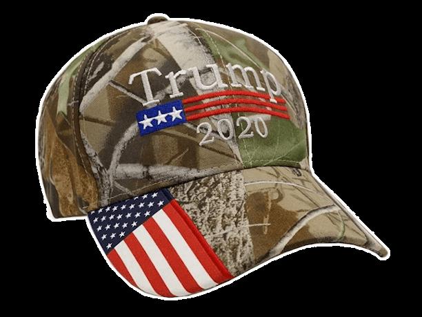 Free Trump Hat Camo