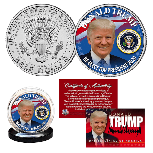 Free Reelect Trump Coin