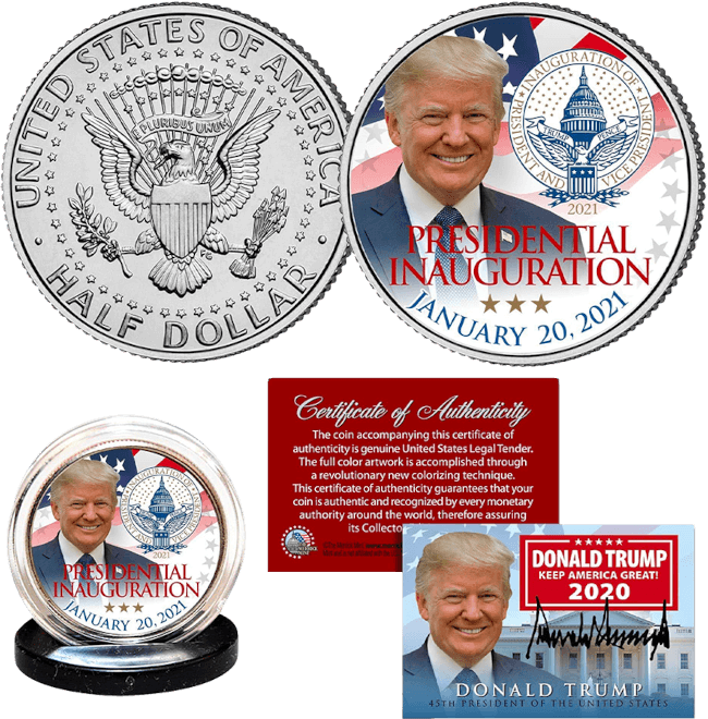 Trump 2021 Inauguration Coin