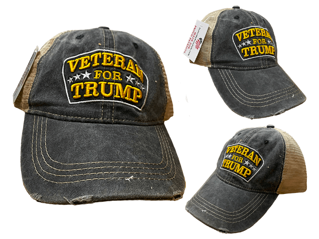 Veteran for Trump Hat