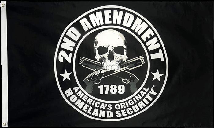 Second Amendment 2A Flag
