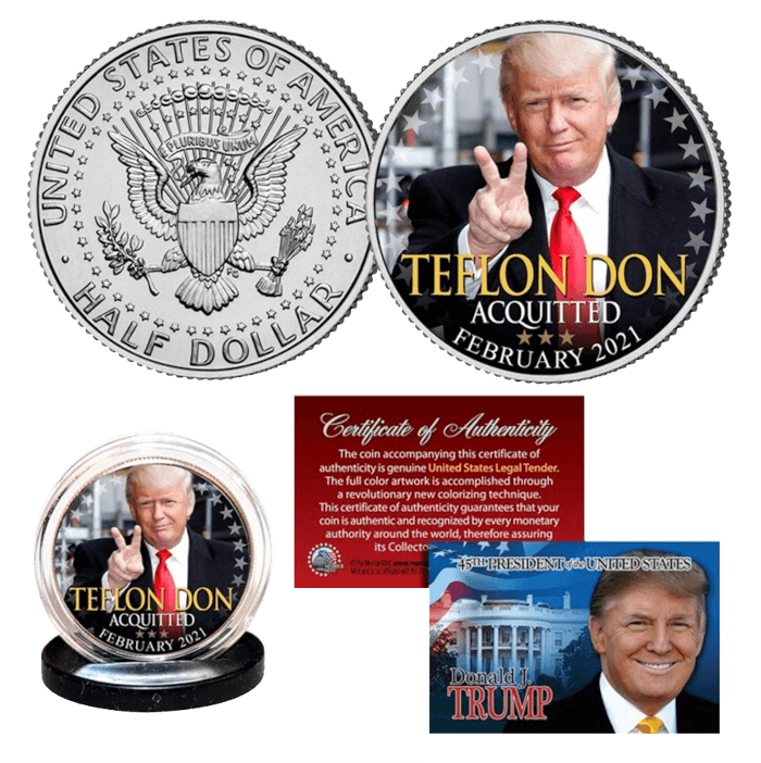 Teflon Don Acquitted Coin