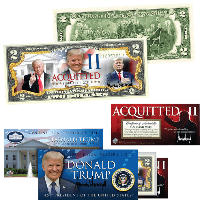Trump Acquitted Round II $2 Bill