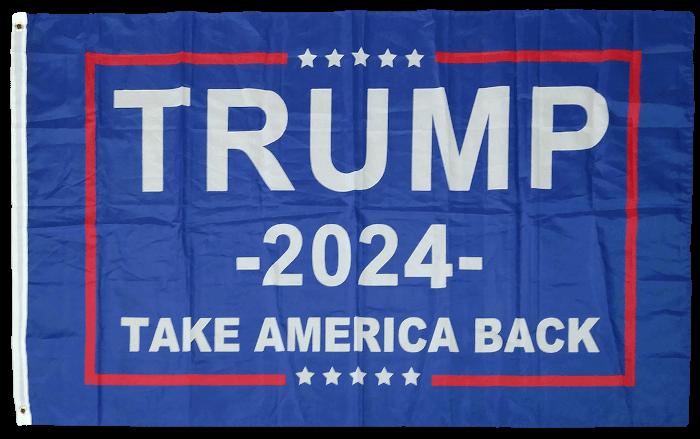 Tump 2024 Flag Take America Back