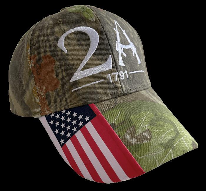 Woodland Camo 2A Hat